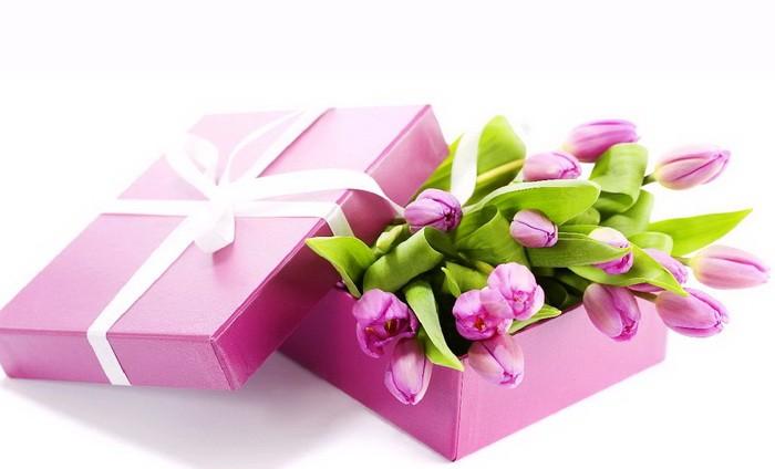 Варианты упаковки подарка к 8 марта (часть 2)_04