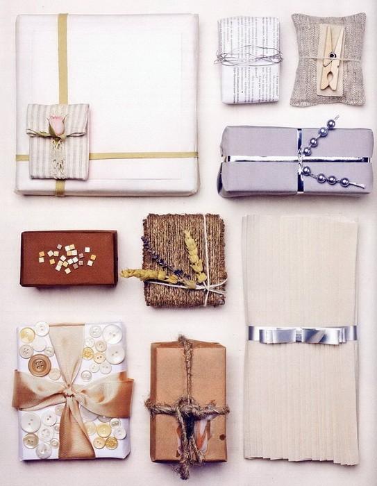 Варианты упаковки подарка к 8 марта (часть 1)