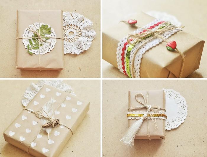 Чем украсить подарочную коробку своими руками фото фото 419
