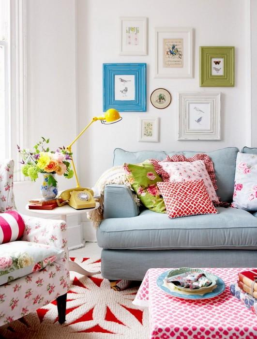 Идеи для декора интерьера весной
