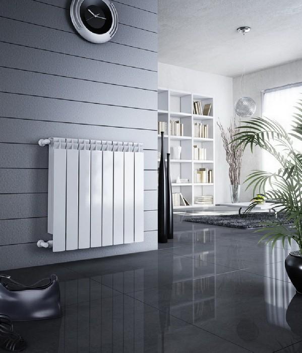Биметаллический и алюминиевый радиатор