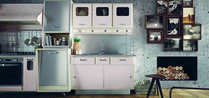 Кухня в стиле ретро_03