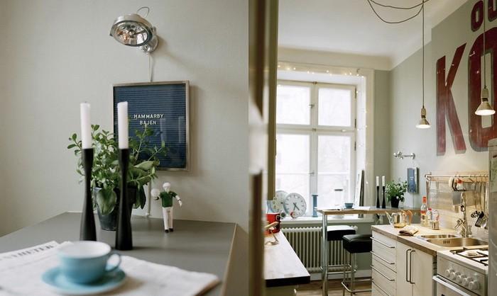 Ретро  Кухня в стиле ретро
