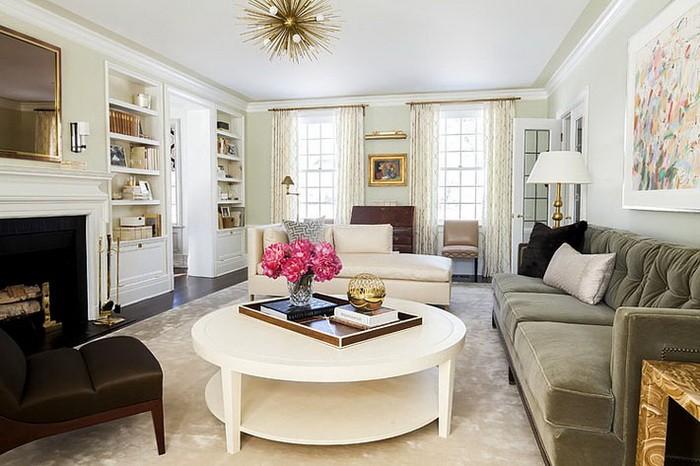 Три способа расставить мебель в гостиной