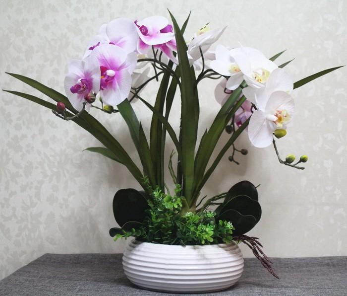 Искуственные цветы в интерьере_001