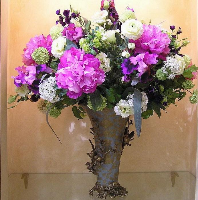 Искуственные цветы в интерьере_003