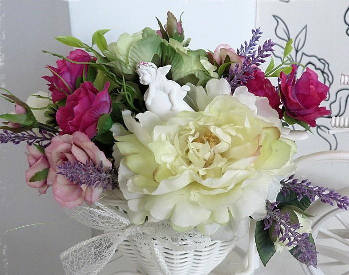 Искуственные цветы в интерьере_017