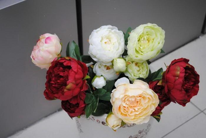 Искуственные цветы в интерьере_034