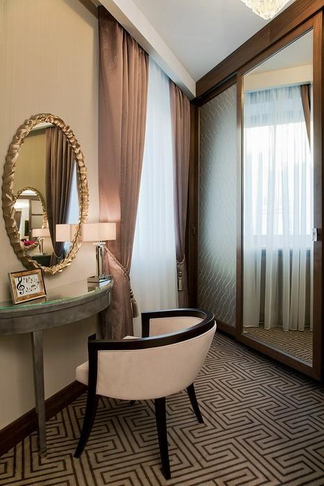 News Современная классика в интерьерах люксов отеля Марриотт