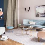 Дизайн интерьера в пастельных тонах