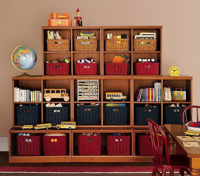 Системы хранения в детских комнатах_13