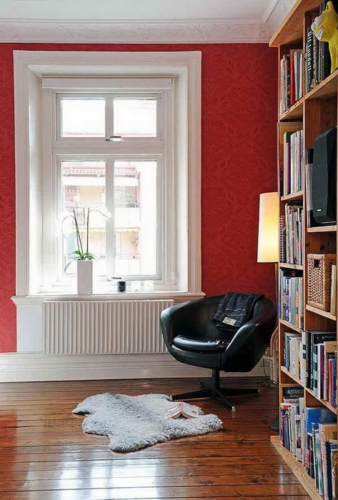 Уютные уголки для чтения (часть 1)