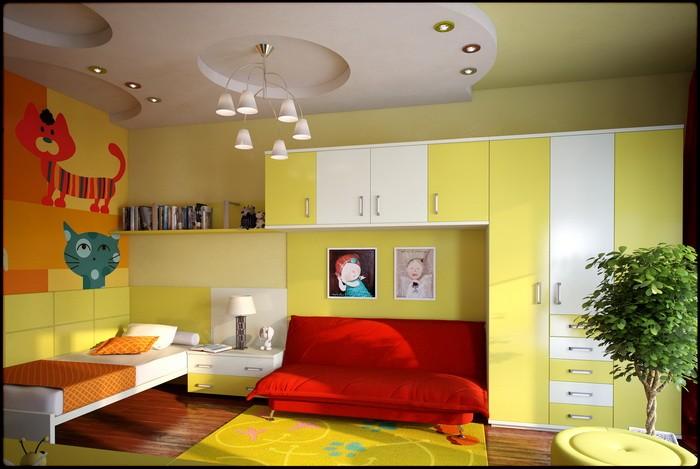 Яркие интерьеры детских комнат_03