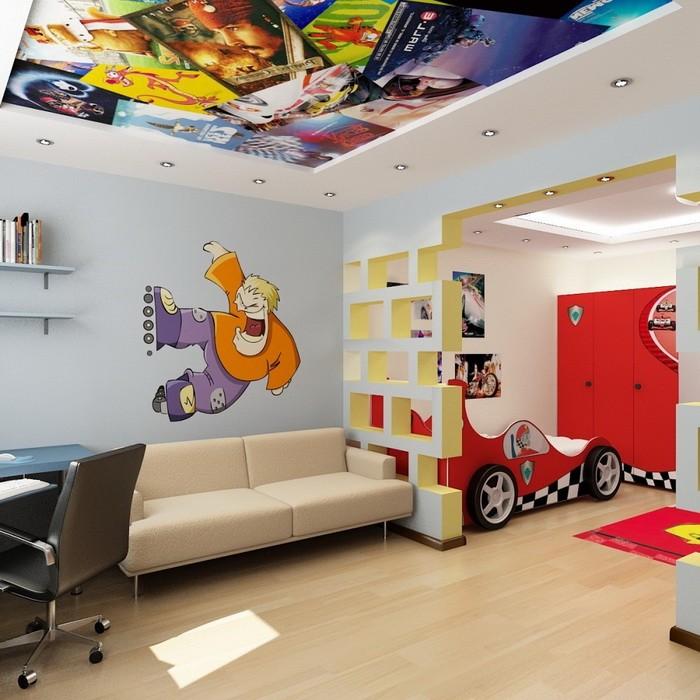 Яркие интерьеры детских комнат_05
