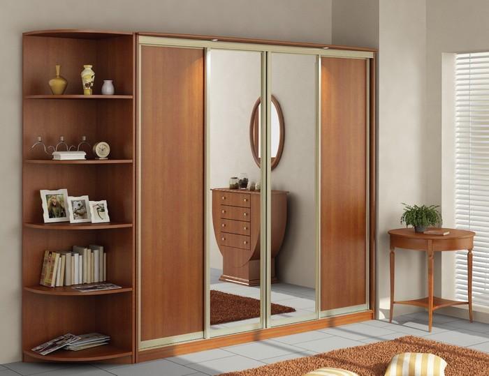 Как выбрать шкаф купе в комнату