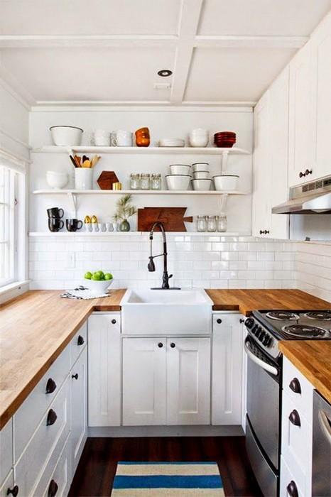 Открытые стеллажи на кухне_04