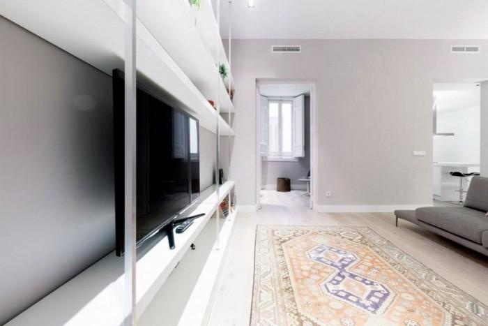 Простая и привлекательная квартира в Мадриде_01