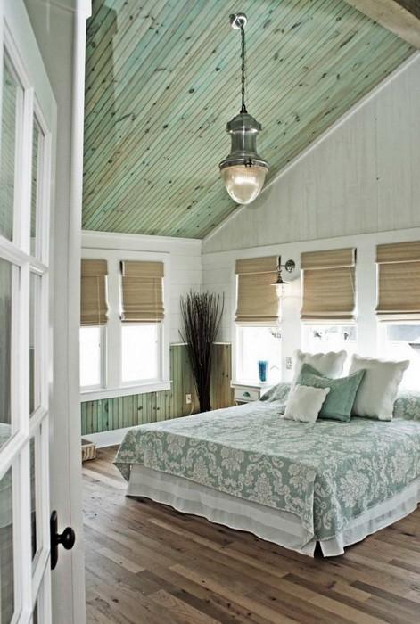 Спальни со сводчатыми потолками