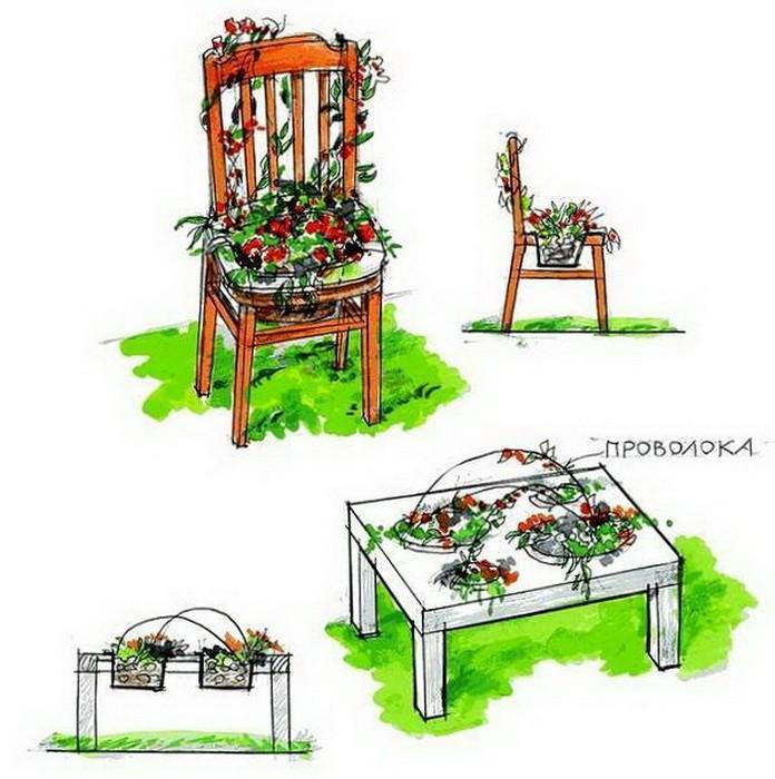 Цветущий стул своими руками_06