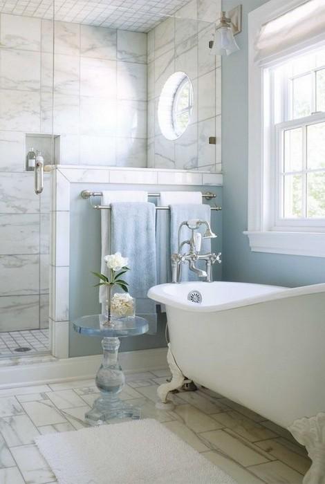 Как оформить большую ванную комнату_13