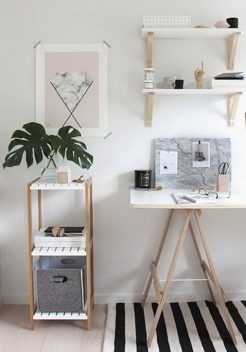 9 способов организовать рабочее место дома