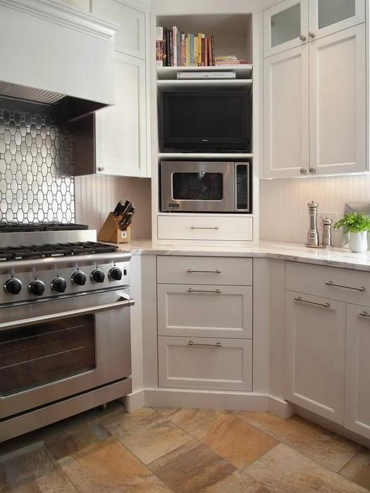 Угловые шкафы для кухни