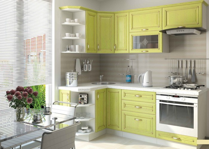 Угловые шкафы для кухни_10