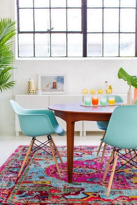 Как добавить цвет в интерьер: интересные решения
