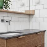 Варианты раскладки плитки в ванной: фото,примеры,сочетания