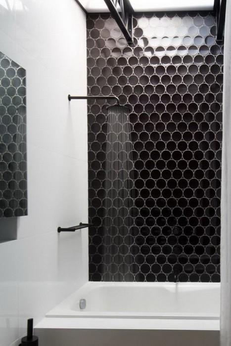 Способ раскладки плитки в ванной
