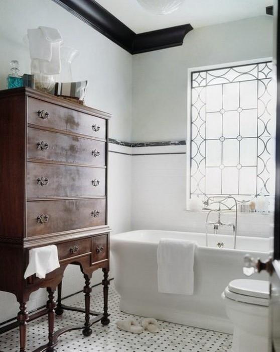 Ванная комната с окном_09