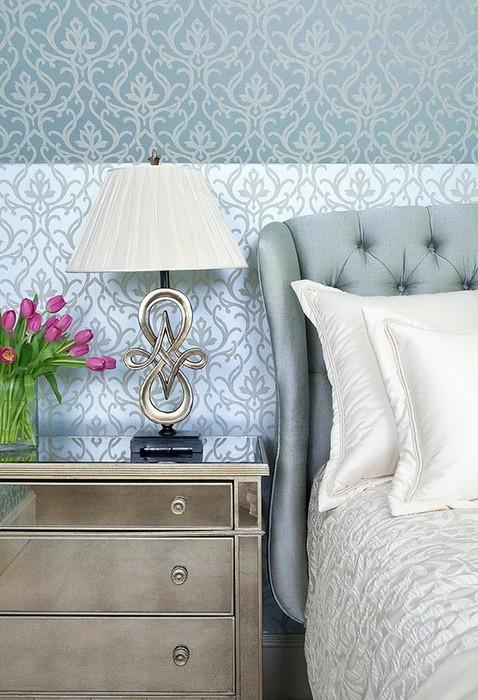 Интерьер красивой  спальни
