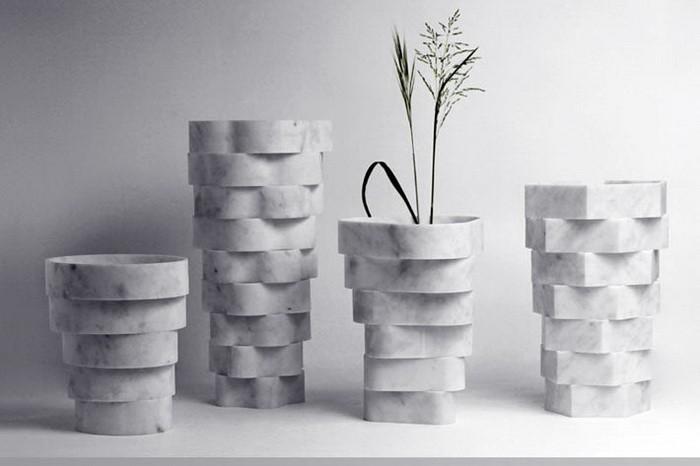 Мрамор в дизайне интерьера