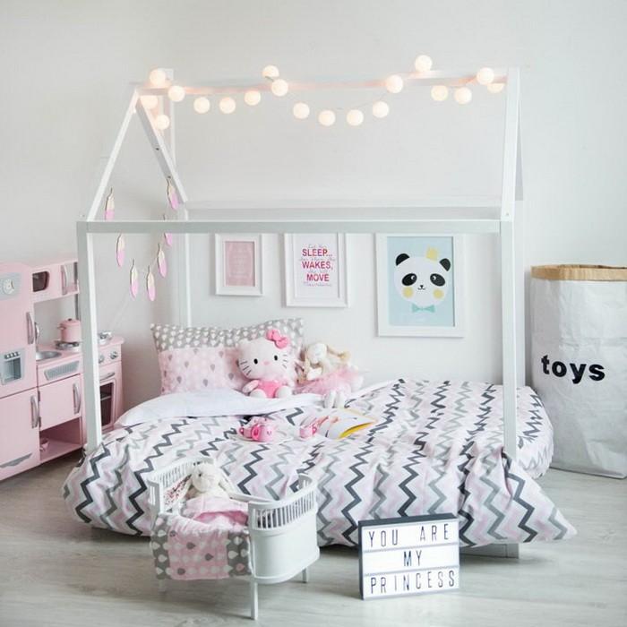 Детские кроватки-домики для детской