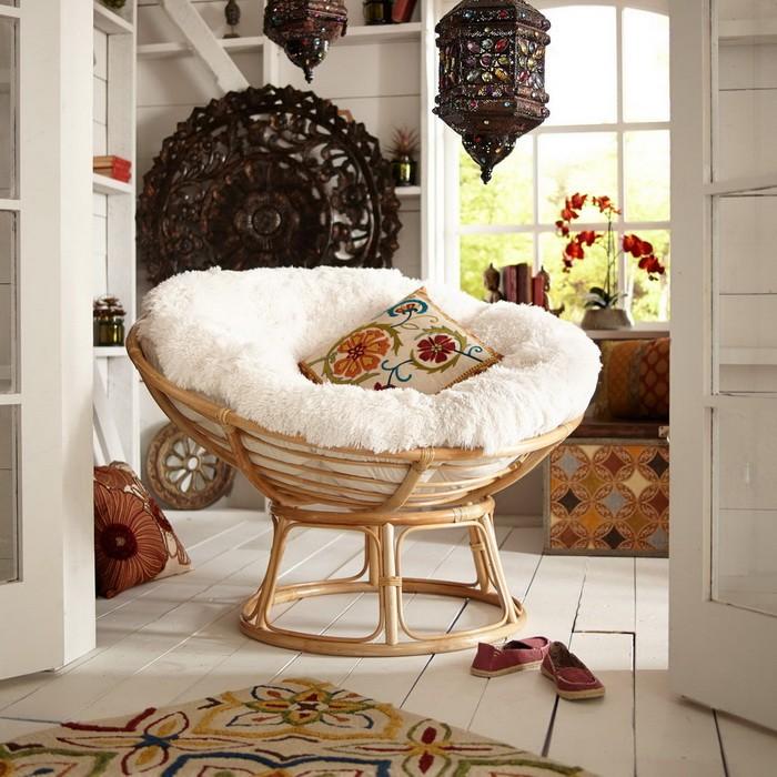 Кресло Папасан в интерьере