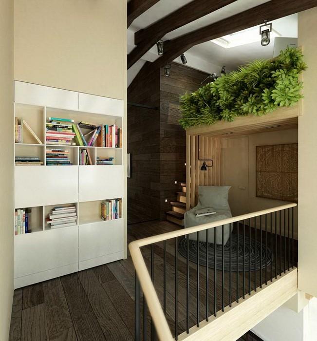 Вертикальное озеленение интерьера квартиры_04