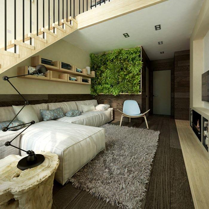 Вертикальное озеленение интерьера квартиры