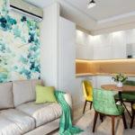 Дизайн интерьера квартиры-студии 23 кв.м.
