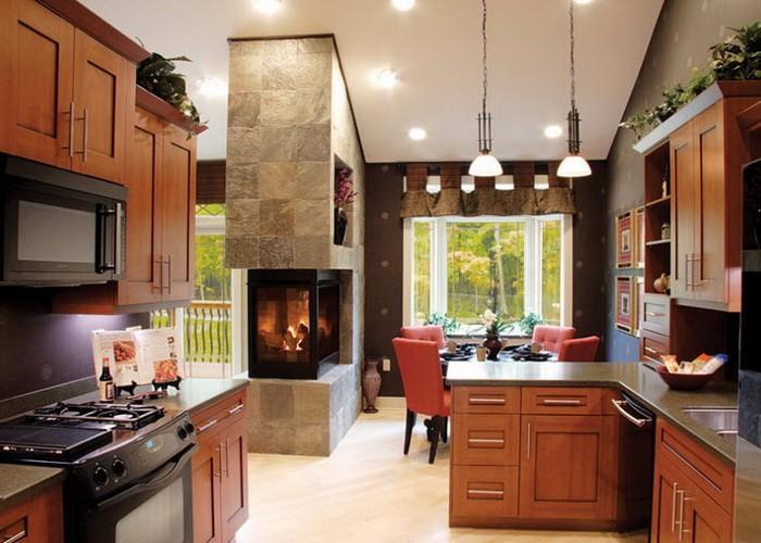 Камин на кухне_08