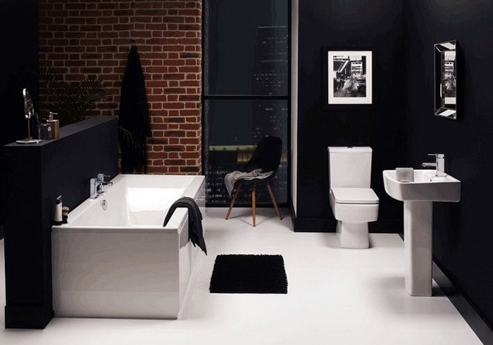 Кирпичная стена в ванной_02