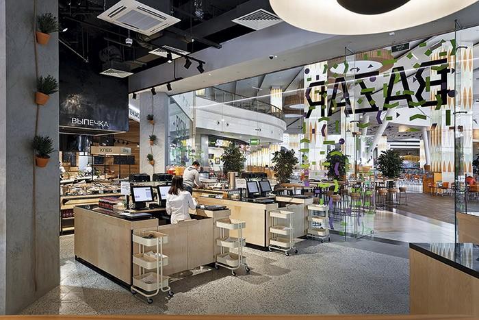 News Привычно, но нескучно: интерьер ресторана Bazar