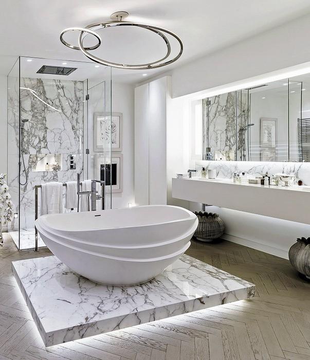 News-7 светильников для ванной