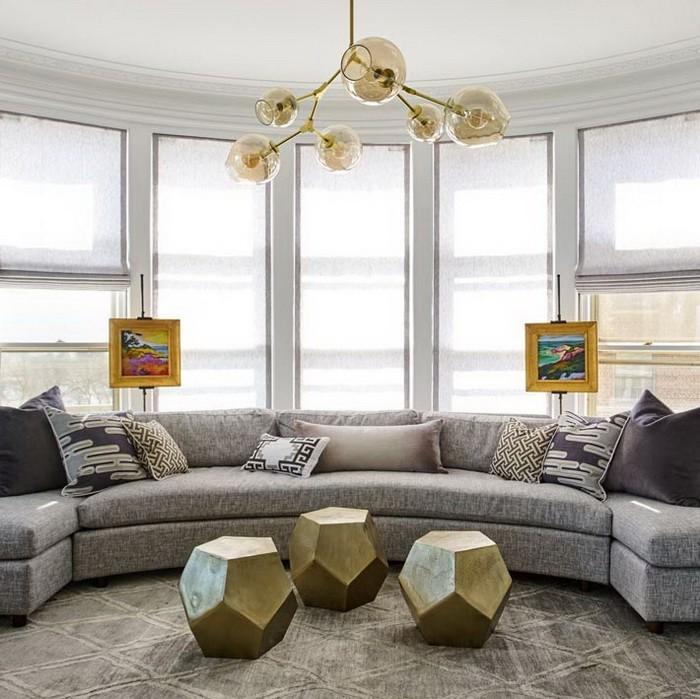 Дизайн интерьера квартиры в сером цвете_01
