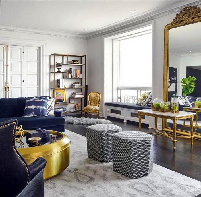 Дизайн интерьера квартиры в сером цвете_03
