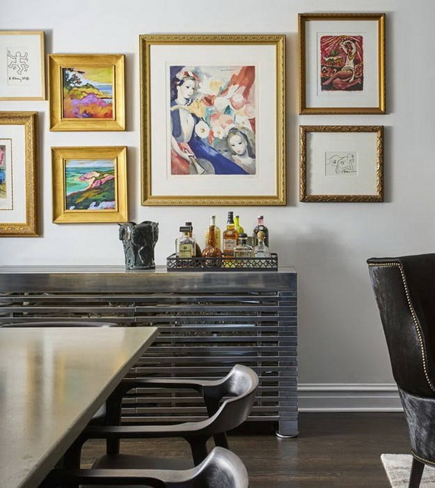 Серый  Дизайн интерьера квартиры в сером цвете