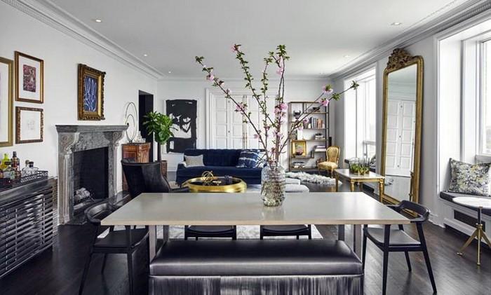 Дизайн интерьера квартиры в сером цвете_06