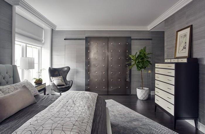 Дизайн интерьера квартиры в сером цвете_08