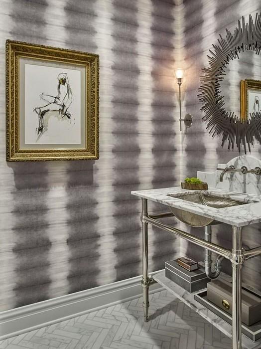 Дизайн интерьера квартиры в сером цвете_09