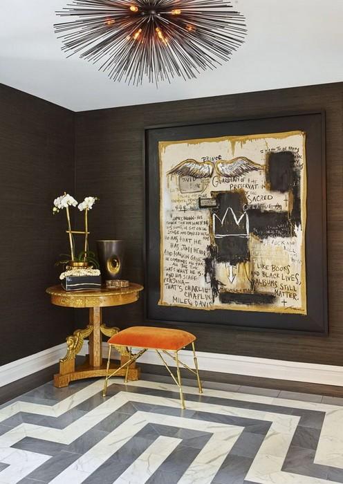 Дизайн интерьера квартиры в сером цвете_10