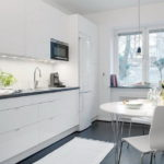 Советы по оформлению маленькой кухни в скандинавском стиле